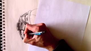 comment dessiner iron man