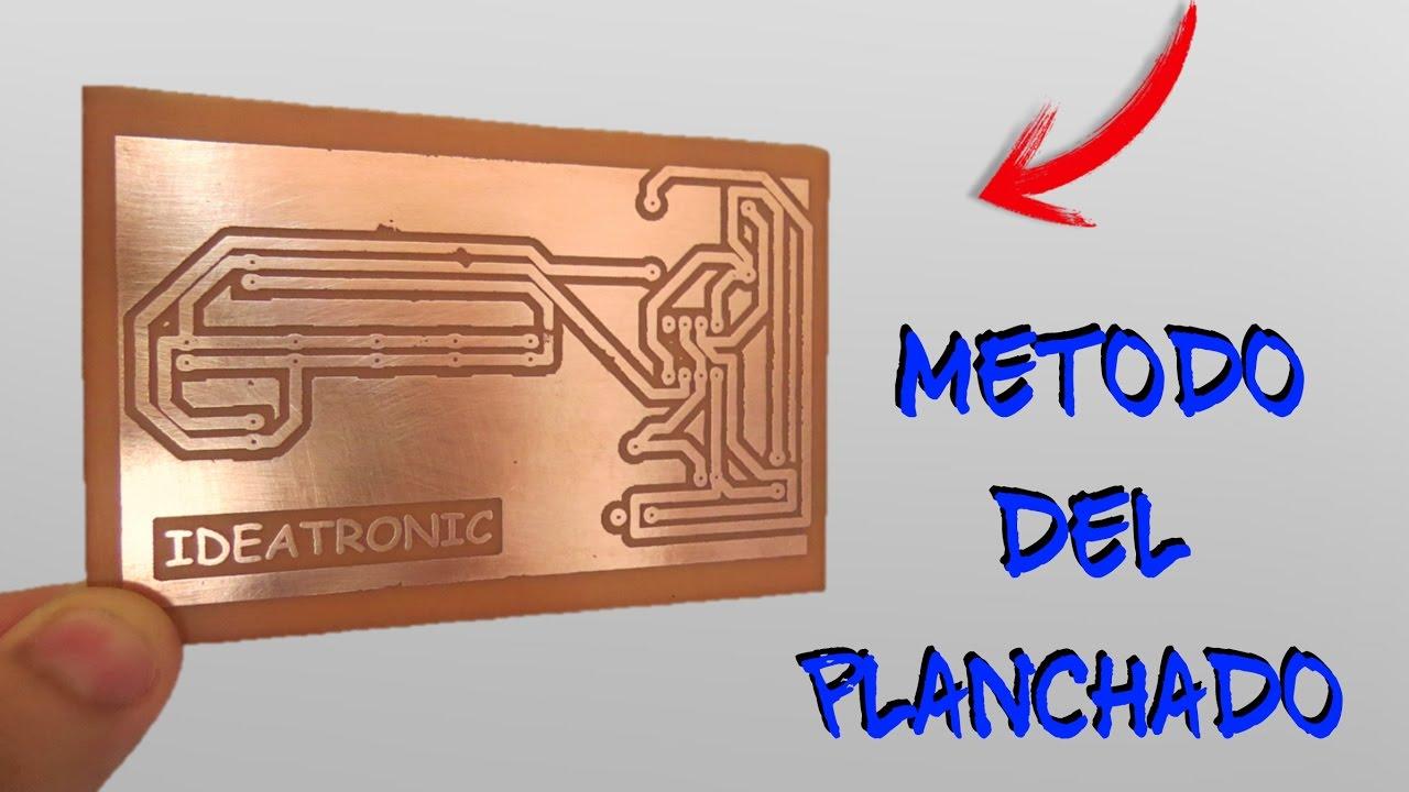 Circuito Impreso : Circuito impreso con el metodo del planchado ideatronic