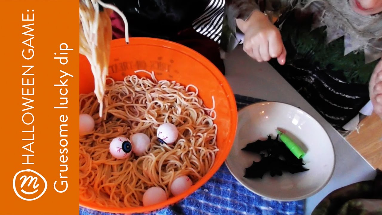 gruesome lucky dip halloween party game ideas | how to with channel