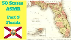 [ASMR] State Map Geography Part 9: Florida