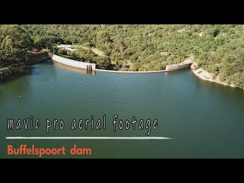 Buffelspoort Dam Aerial Footage