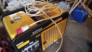 видео Бензиновый генератор Kipor IG6000