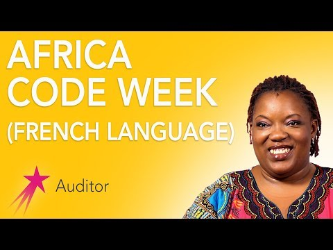 Auditor: Africa Code Week French Language - Desiree Gueassemon Career Girls