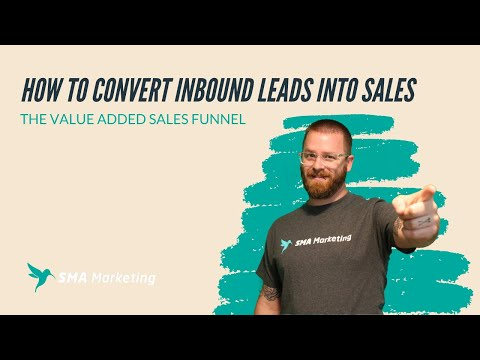 How to Convert Inbound Leads into Sales | SMA Marketing Min Episode #24