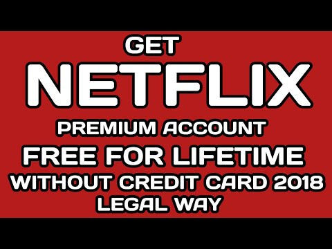 how to get free netflix premium without credit card or paypal in a legal way !!
