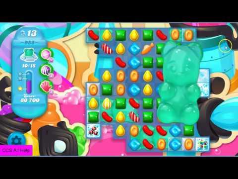Candy Crush Soda Saga Level 958 NO BOOSTERS