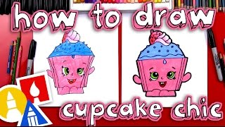 How To Draw Cupcake Chic Shopkins