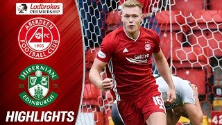 Aberdeen 1-1 Hibernian | Cosgrove Snatches Late Equaliser! | Ladbrokes Premiership