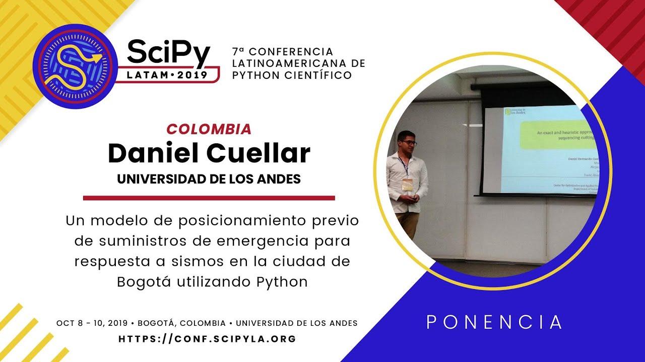 Image from Un modelo de posicionamiento previo de suministros de emergencia para respuesta a sismos en la ciudad de Bogotá utilizando Python