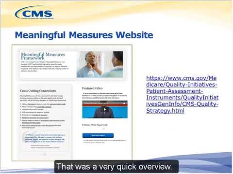 CMS Measures under Consideration Pre Rulemaking Open Forum 2 2018 04 12 508