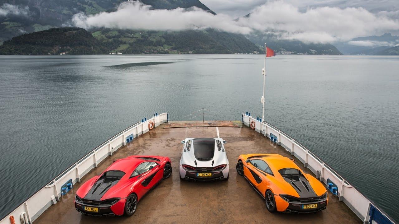 McLaren European Sports Series tour 2016