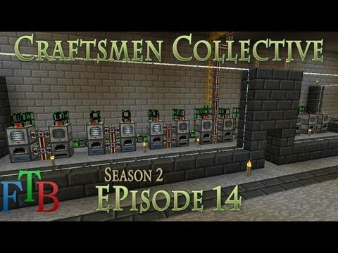 """Craftsmen Collective """"Feed the Beast"""" - S2E14 - Smeltin Business"""