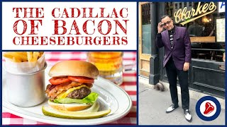 The Cadillac of Bacon Cheeseburgers at P.J. Clarke's in New York City