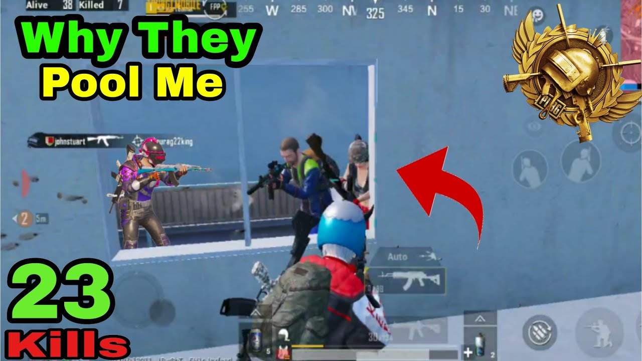 Why Everyone Wants To Fool Me in Pubg Mobile||Pubg Mobile Gameplay by Mart Gamer|2020