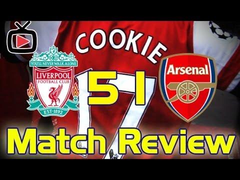 Liverpool 5 Arsenal 1 Match Review - ArsenalFanTV.com