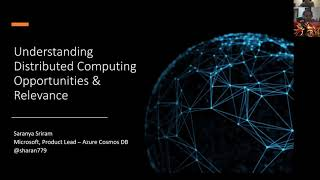 Understanding Distributed computing, Opportunities and Applications - JuniorDevSG