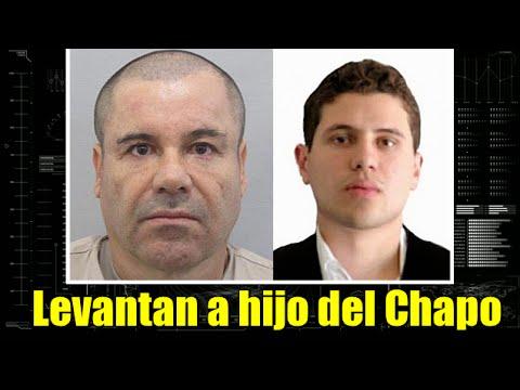 Levantan a hijo del Chapo Guzmán