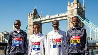 Live London Marathon/2018 Chegada