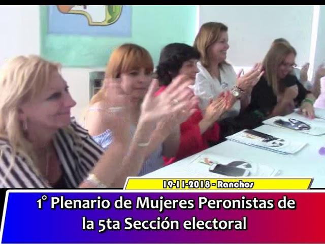 1º Plenario de Mujeres Peronistas