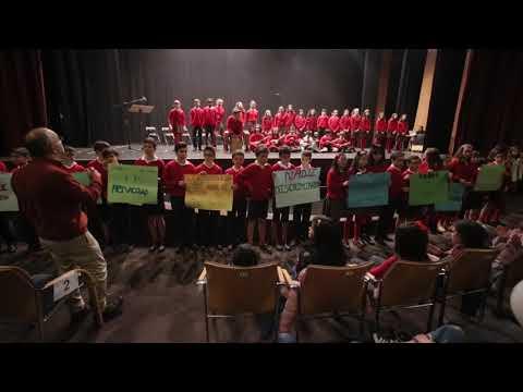 """""""Con amor y libertad"""", as escolas de Pontevedra cos dereitos humanos"""