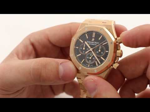 Audemars Piguet Royal Oak Chronograph 41mm 18k rose gold 26320OR Luxury Watch Review