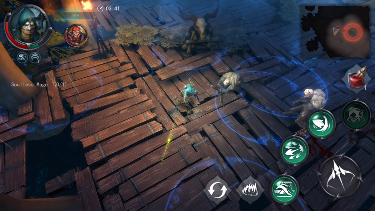 Raziel: Dungeon Arena - Archer Gameplay Preview - YouTube