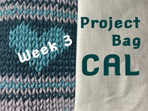Ophelia Talks CROCHET CAL 2020 Project Bag Week 3