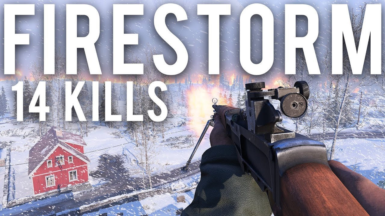 Schlachtfeld-Feuersturm 14 Töte Rampage + video