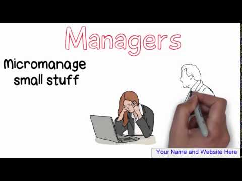 Leader vs. Manager - The Wind and the Sun, Whiteboard Animation