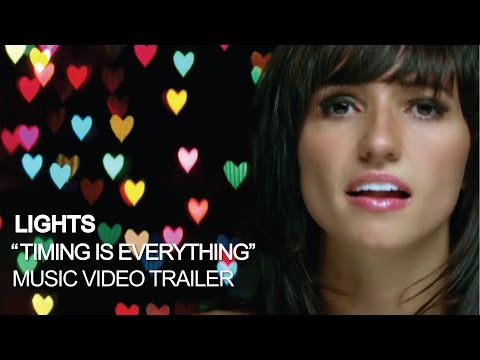 LIGHTS - Timing Is Everything [Music Video Trailer]
