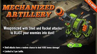 Mechanized Artillery: Battle Nations