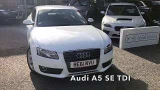 Closer Look: Audi A5 SE TDI