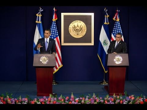President Obama, President Funes Meet in San Salvador