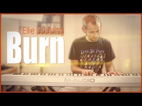 Ellie Goulding - Burn (Instrumental) | Jake Weber Cover