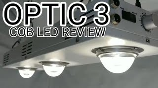 CREE COB LED GROW LIGHT REVIEW & BY METER PREVIEW