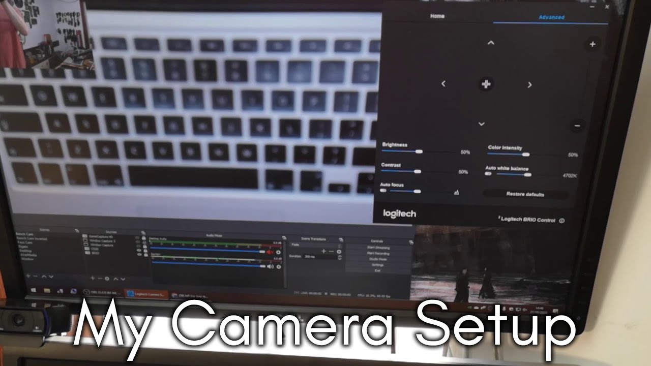 My Cam Setup in under Five Minutes