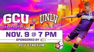 GCU Men's Soccer vs UNLV November 9, 2019