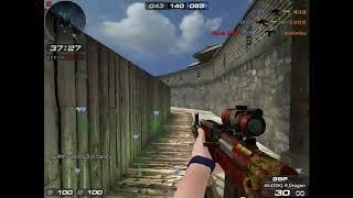 [서든어택]공방전 #163 민속촌 [AK-47]
