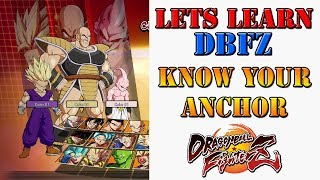 Lets learn DBFZ! - Who should be the anchor on your team?