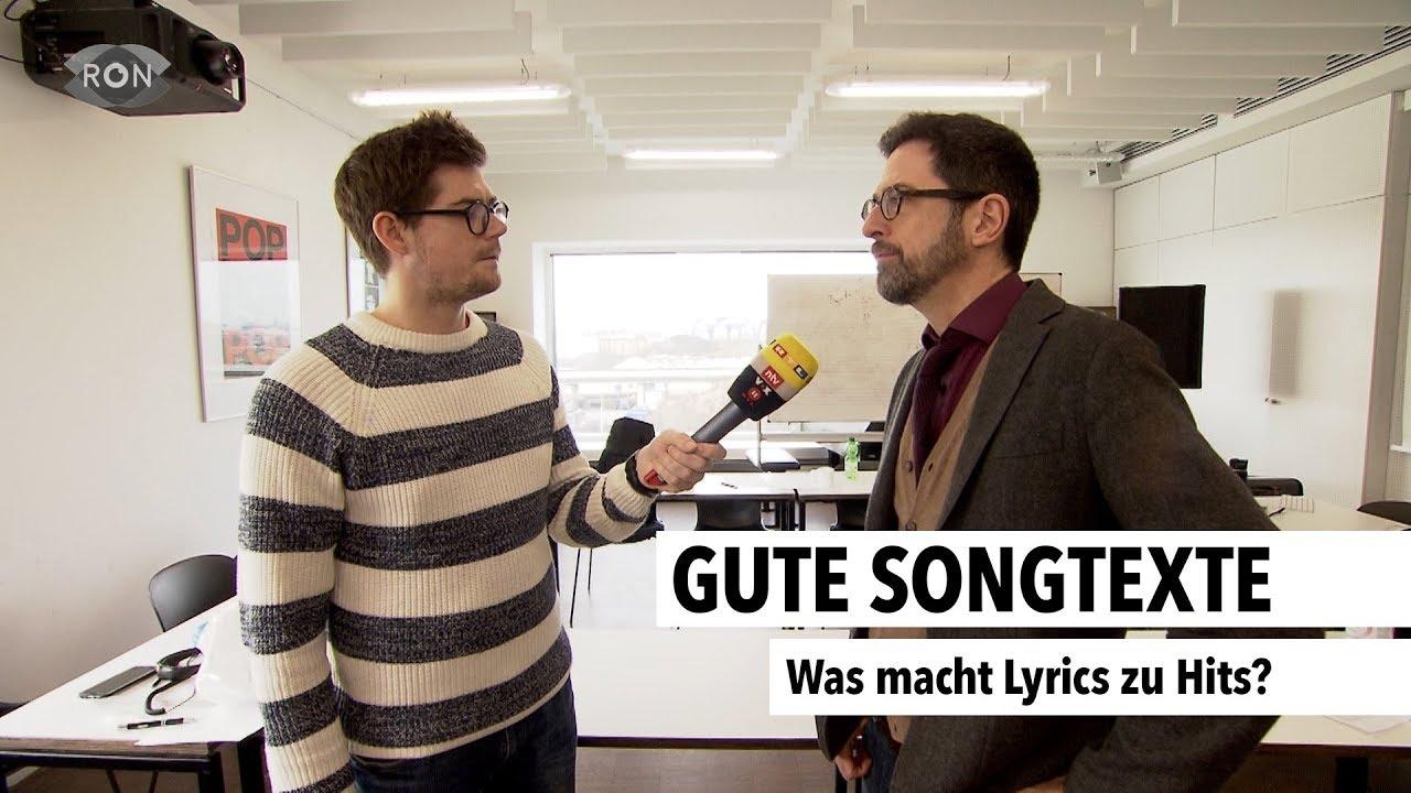 Gute Songtexte   RON TV   - YouTube