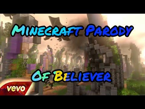 Minecraft  Of Believer - Imagine Dragons Vevo