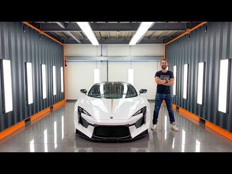 Paint Protecting The £1.4m Fenyr Supersport – World's First PPF & Detail On Lykan Successor