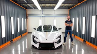 Paint Protecting The £1.4m Fenyr Supersport - World's First PPF & Detail On Lykan Successor
