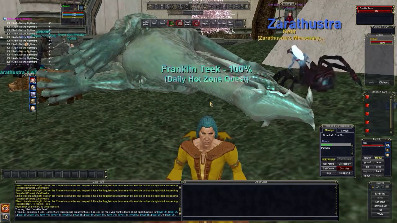 Everquest: Leveling a Shadow Knight