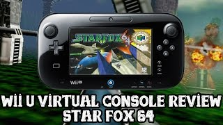 [Wii U VC] Star Fox 64 - video review