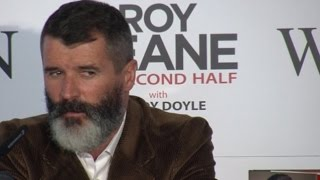 Roy Keane Book Launch - Stares Out Journalist Who