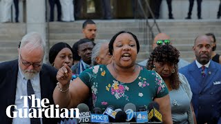 'Today we can't breathe': Garner family react after prosecutors fail to charge NYPD officer