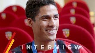Interview exclusive : Raphaël Varane