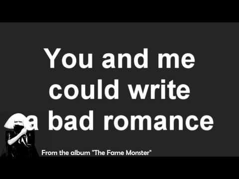 Lady GaGa's Bad Romance [Track 1; Explicit] - Lyrics