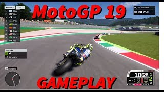 MotoGP19 | The first official gameplay trailer ! Valentino Rossi at Mugello 2019